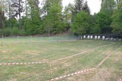 Aufbau neue TargetSprint Arena Hombrechtikon 2020